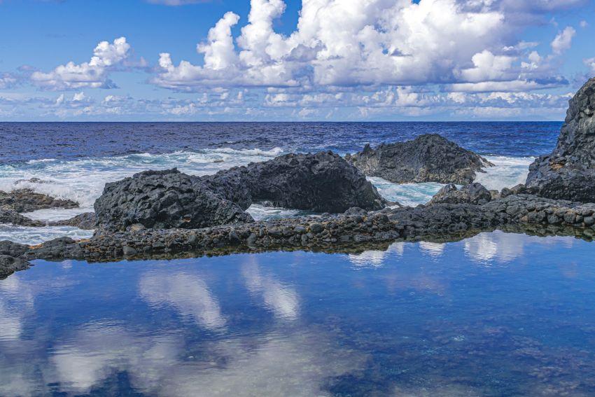Charco Azul, una piscina natural de La Palma