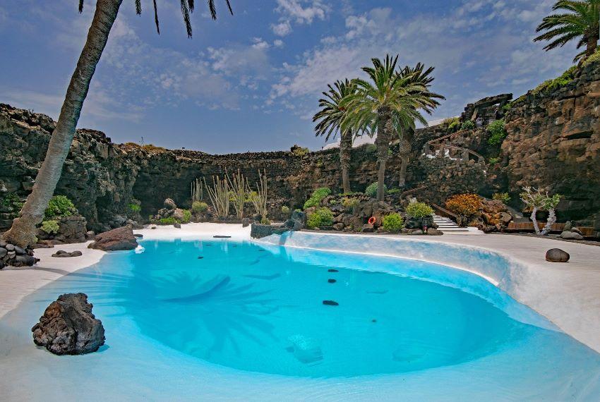 Los preciosos Jameos del agua, en Lanzarote, por Marca Canaria