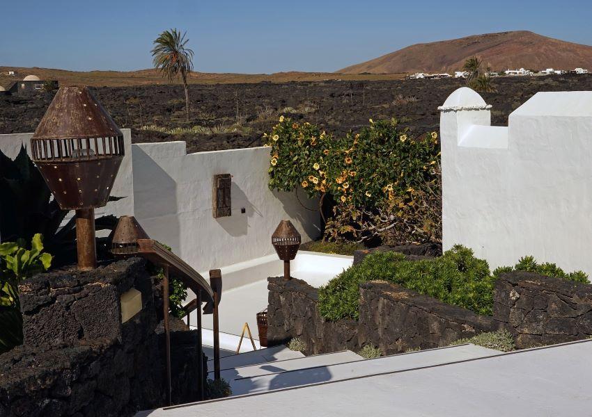 Detalle de la Casa-Museo de César Manrique, Lanzarote, por Marca Canaria