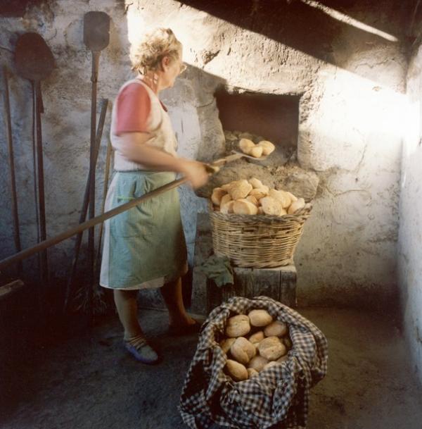 Lina la Rubia, mítica panadera de Ingenio