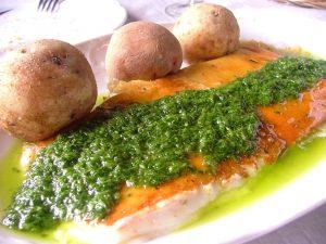 Otra receta de queso asado con mojo, en Marca Canaria