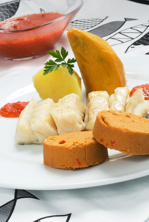 Y otra receta más de sancocho canario, en Marca Canaria