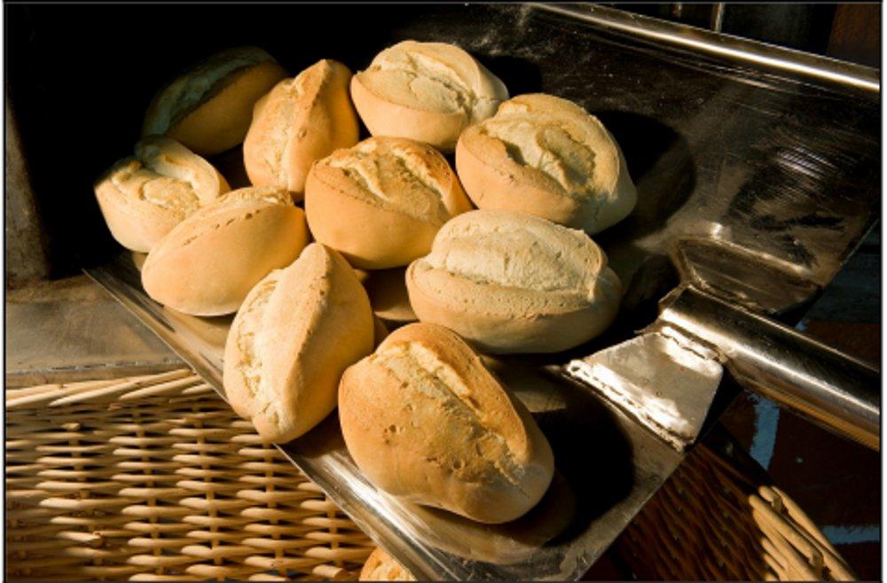 Pan de puño de Ingenio en el horno