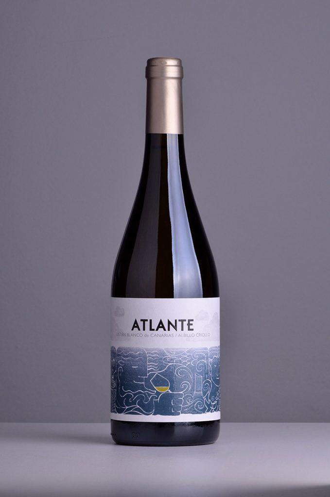 Botella de Atlante blanco