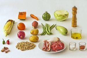Ingredientes del puchero canario
