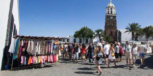 Mercadillo de Teguise, en Lanzarote