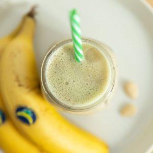 Plátano en batido