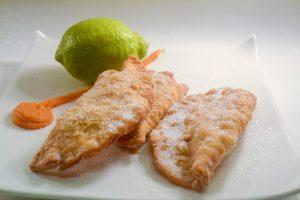 Las Truchas de batata, postre canario tradicional