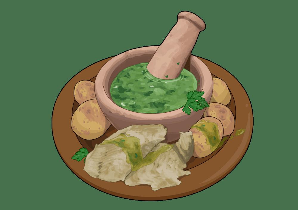 El auténtico mojo verde de las Islas Canarias