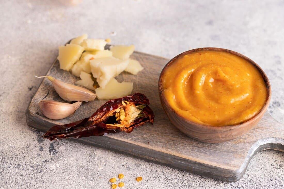 Almogrote, el paté de queso canario