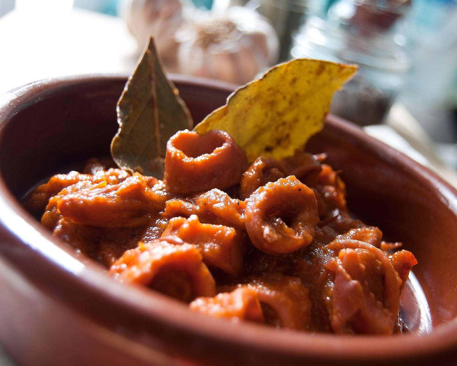 Potas en salsa, un manjar