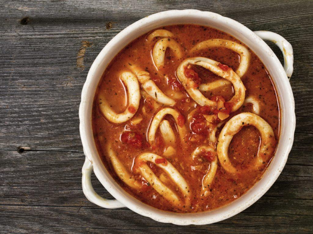 La receta de potas en salsa canaria
