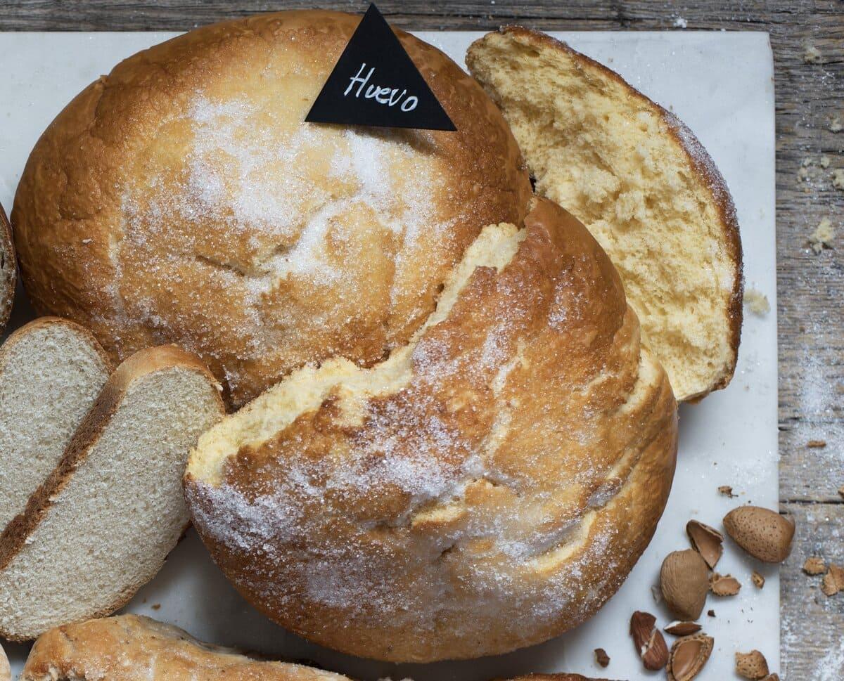 Receta de pan de huevo canario