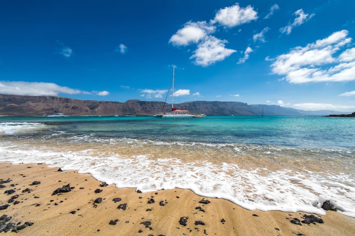 Playa la Francesa, La Graciosa