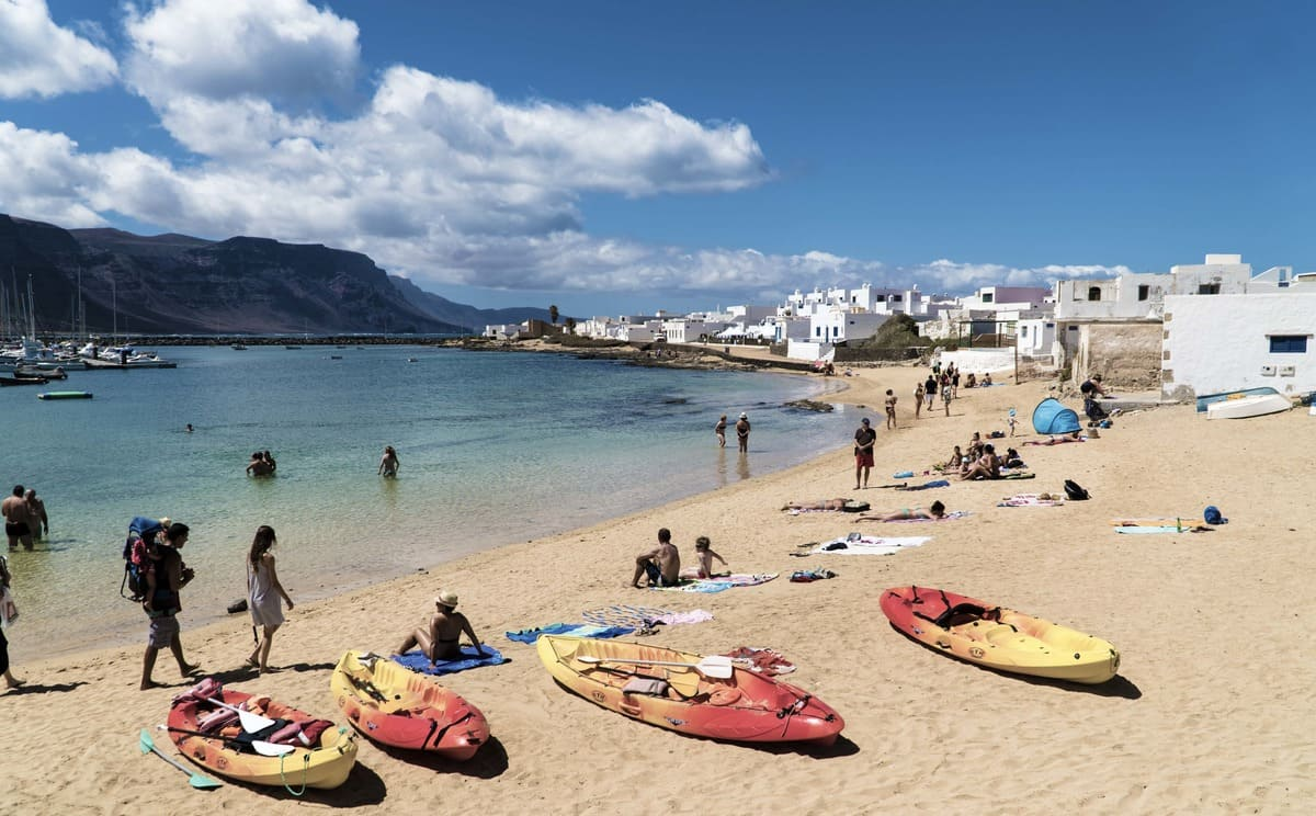 Playa de Caleta de Sebo
