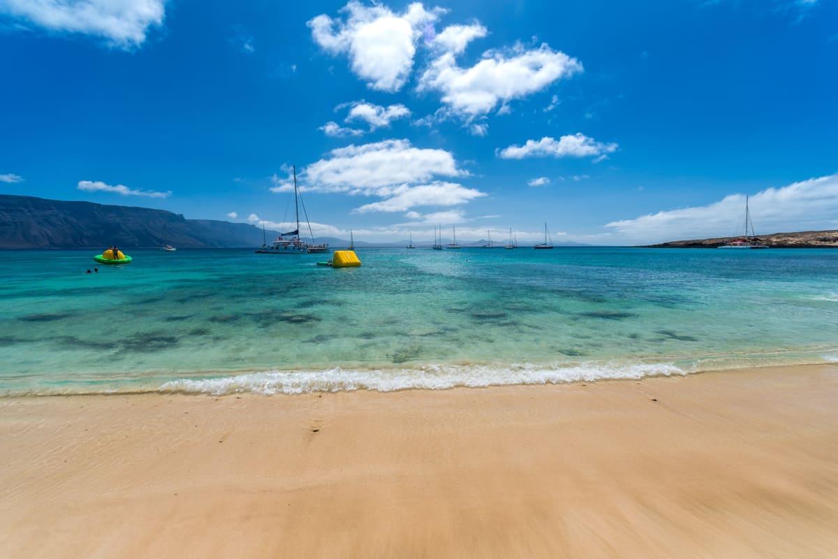 Isla Graciosa, Playa La Francesa