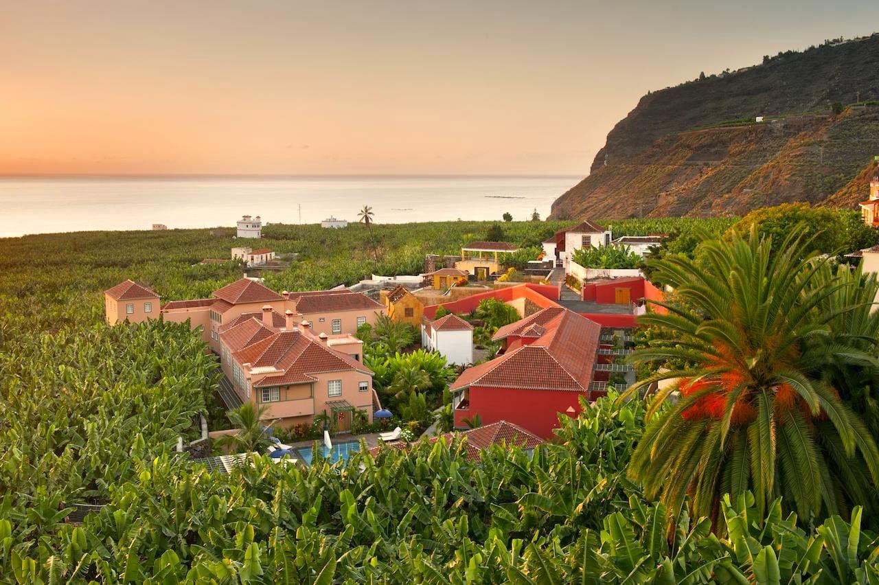 Hotel La Hacienda de Abajo, en La Palma