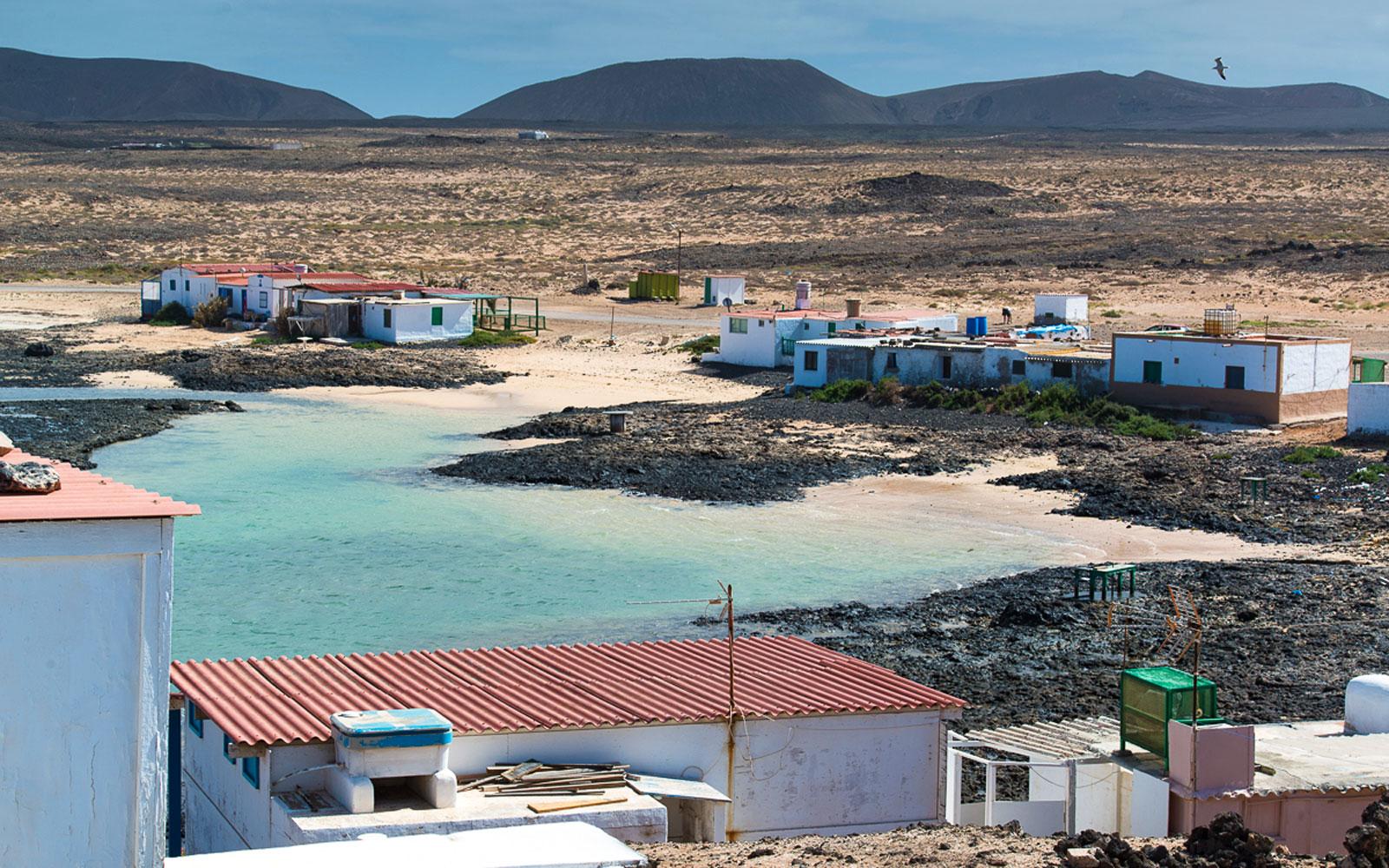 Majanicho en Fuerteventura
