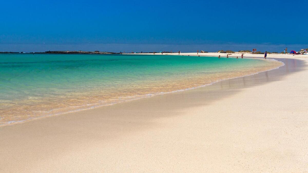 Playa de la Concha, en Fuerteventura