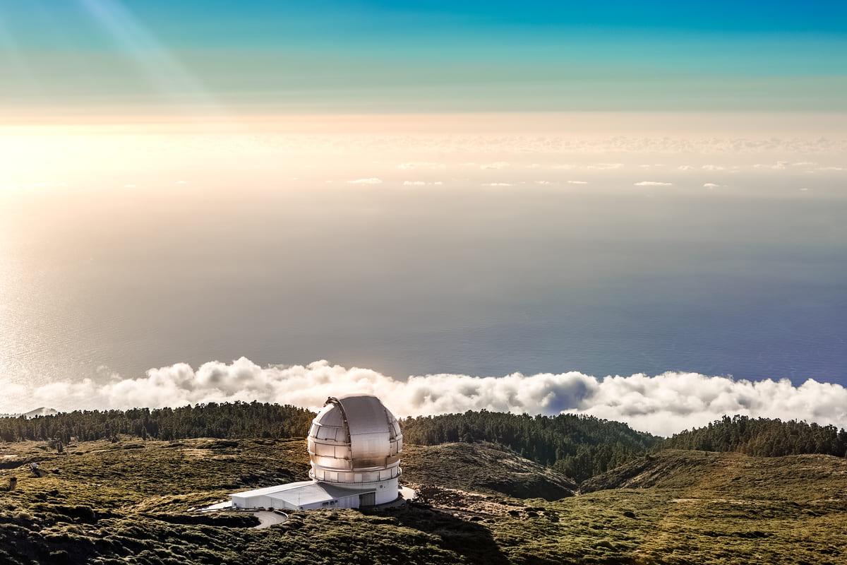 Observatorio Astronómico en el Roque de los Muchachos