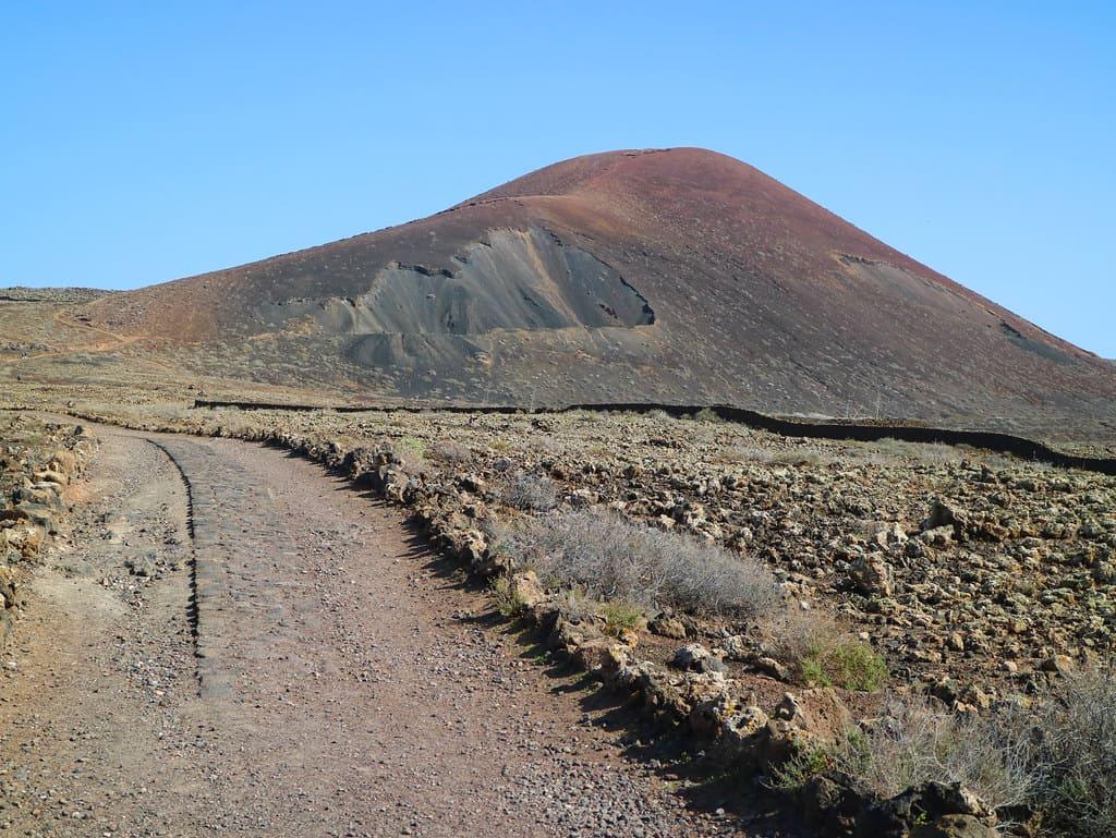 Volcán Calderón Hondo, en Fuerteventura