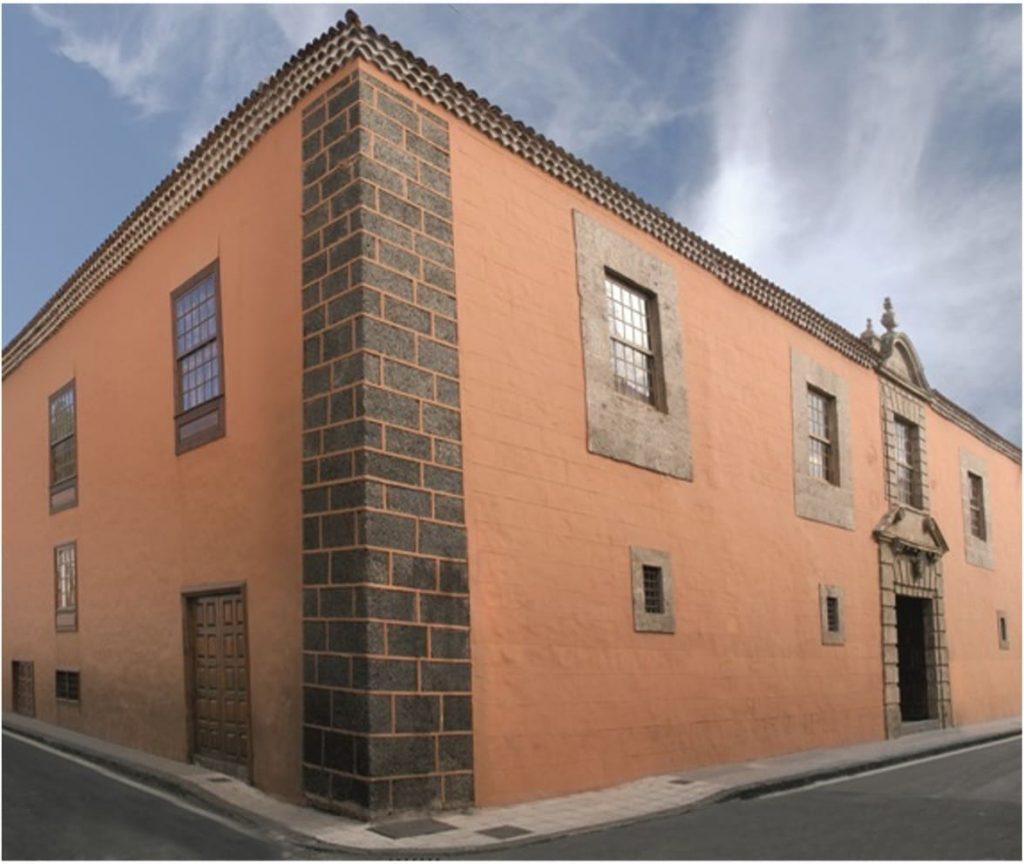 Fachada del Palacio de Lercaro en La Laguna