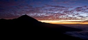 Atardecer desde el Parque Nacional del Teide